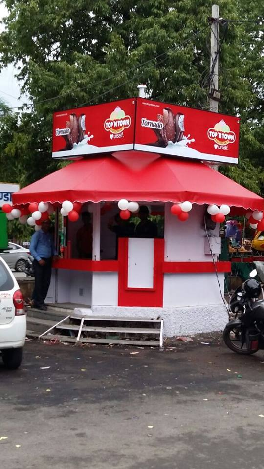 Top N Town Ice Cream Parlour, Sukhadia